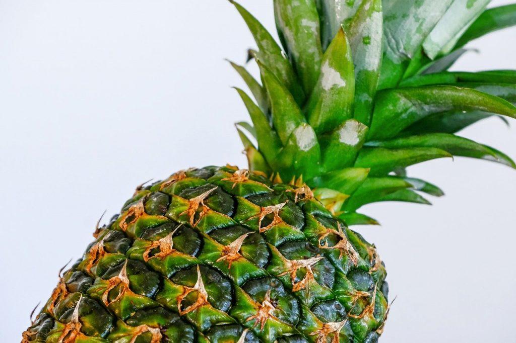 pineapple, fruit, tropical